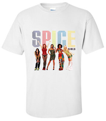 SHIRT SPICE GIRLS SPICE UP YOUR LIFE T-Shirt SMALL,MEDIUM,LARGE,XL