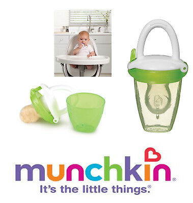 Baby Fresh Food Mesh Feeder Teat Dummy Gets Nutrition with No Risk Munchkin