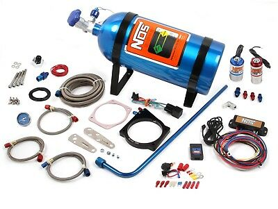 NOS 05164NOS GM LS w/4 Bolt Drive By Wire Throttle Complete Nitrous System