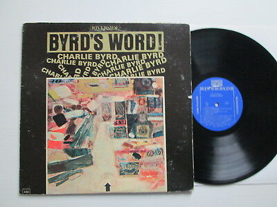 Charlie Byrd - Byrd's Word - Lp 1963 Riverside Rm 448