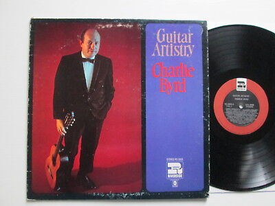 Charlie Byrd - The Guitar Artistry - Lp 1967 Riverside Rs 3005