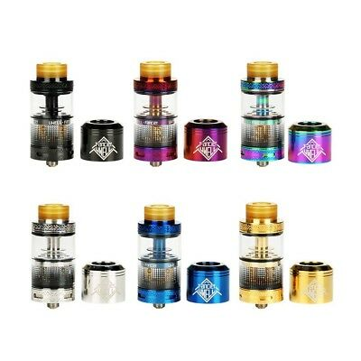 Uwell Fancier RTA RDA Rebuildable Tank 100% Authentic 2 In 1 RTA & RDA Gold