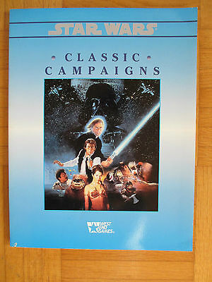 STAR WARS – CLASSIC CAMPAIGNS – 40108- English – Lucas Arts West End - SW RPG LA