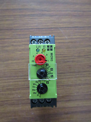 Multi Function Time Delay Relay, Screw 50 ms-10 days SPDT 1 Contact Wall 3216422