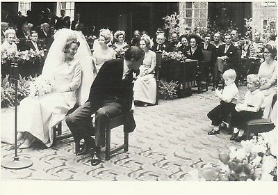 PRINZESSIN BEATRIX-PRINZ CLAUS-Adel-ROYAL WEDDING-Oranje-ORIGINAL POSTCARD