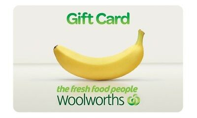 Woolworths $500 Electronic gift card giftcard woolworth
