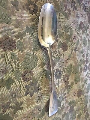 Antique 19th Century Silver Table Spoon