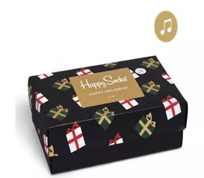 Happy Socks: Singing Happy Holiday{Gift Box}{Limited Edition}{Size 36-40}