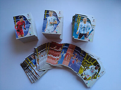 Adrenalyn Wm Panini World Cup 2018    10 Team Mates Basis-Karten   Aussuchen