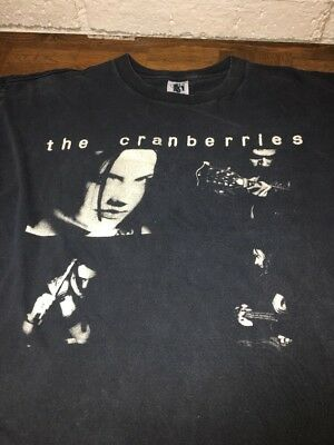 THE CRANBERRIES vintage '93 T-Shirt DEBUT ALBUM 90s EVERYBODY ELSE Distressed M