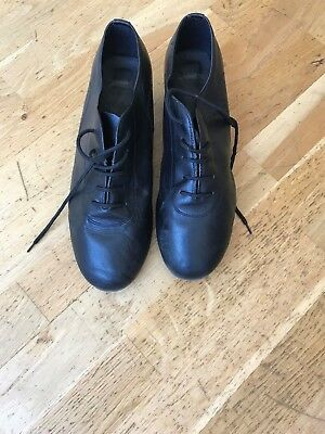 Men's dance shoes - Size 8.5 Latin/ballroom/salsa/jive Leather upper, suede sole