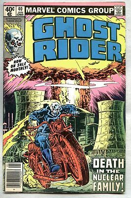 Ghost Rider #40-1979 fn Don Perlin The Nuclear Man