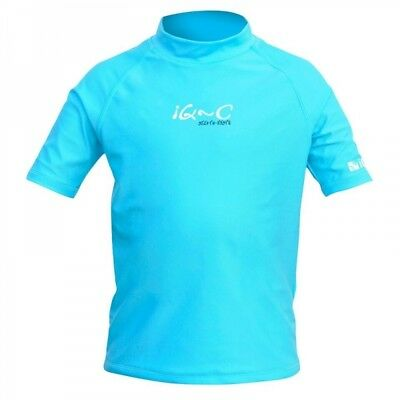 iQ Watersport UV-300 Youngster Shirt 6-14 Jahre - turquoise - Gr. 152