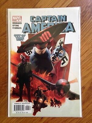 Captain America #6 first appearence Winter Solider NM (2005)