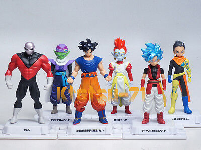 Super Dragon Ball Heroes Skills Figure 01 FULL SET 6pcs Avatar BANDAI Gashapon