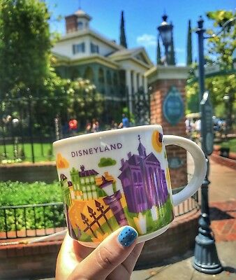 Disney Parks Disneyland Haunted Mansion You Are Here Starbucks Mug 2018 New!