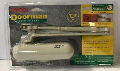RYOBI DOORMAN DOOR CLOSER MODEL DM103UL Maxi-Force