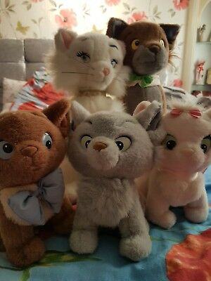 Aristocats duchess thomas marie berloiz and turluze plushes great for there age