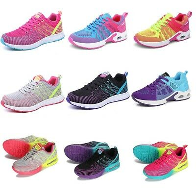Women's Athletic Sneakers Outdoor Breathable Running Walking Sports Casual Shoes