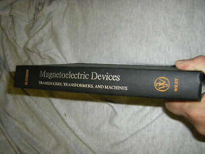 Magnetoelectric Devices Transducers Transformers and Machines Slemon 1966 HBOOK