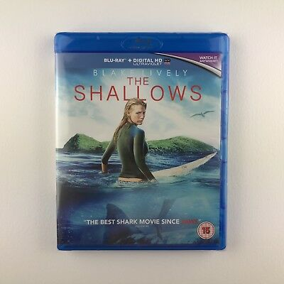 The Shallows (Blu-ray, 2016) *New & Sealed*