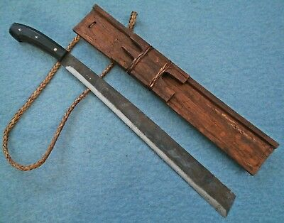 old Philippines Luzon Igorot Ifugao parang Pinahig sword Asian knife Bontac