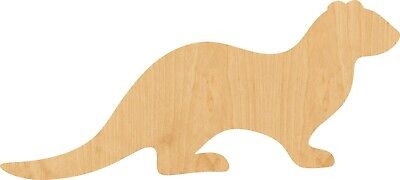 Otter Animal Wall Art Laser Cut Out Metal Sign 9x24