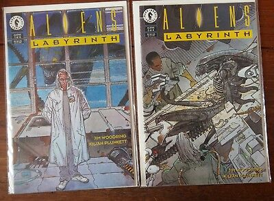 Dark Horse Comics - Aliens Labyrinth - 3 issues  -  Modern Age