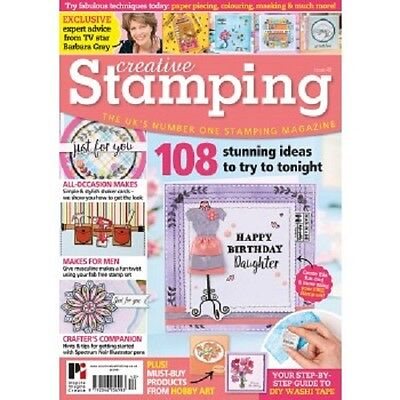 Creative Stamping Magazine with Free Stamp Set NEW
