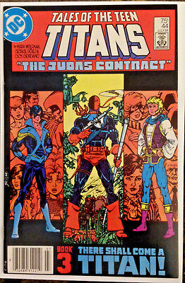 Tales of the TEEN TITANS #44 (1984) First NIGHTWING! Key Issue DC Comics Grayson