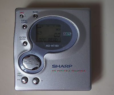 Sharp Mini Disc Recorder Player MD-MT180H(S)  defekt