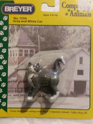 Breyer Companion Animals No. 1550 Gray And White Cat new in package