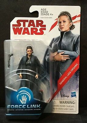 "Star Wars The Last Jedi 3.75"" figure - General Leia Organa"