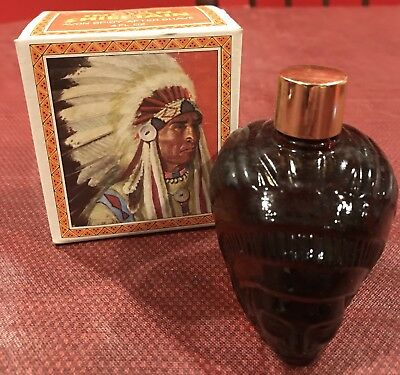 Vintage Avon  Indian Chieftain Head Spicy After Shave,used
