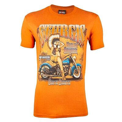 Sturgis Harley-Davidson® Men's Native Lady Short Sleeve T-Shirt