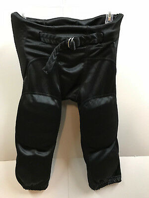 CHAMPRO Youth size M Black Football Pants w Built In Protection Pads