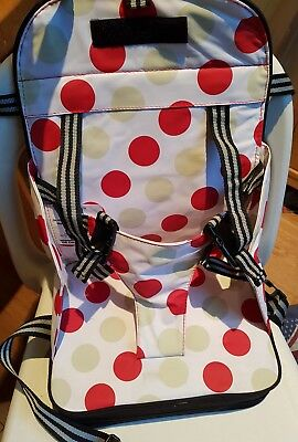 Polar Gear Portable Baby & Toddler Booster Seat 5 Point Harness Travel & Holiday