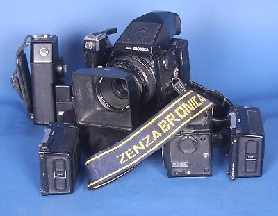Bronica ETRS 645 With Extras