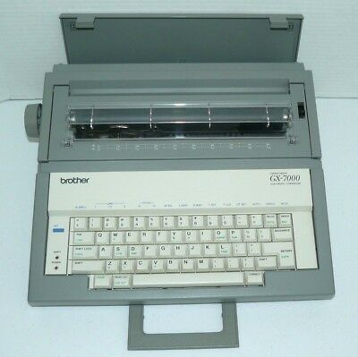 Brother GX-7000 Correctic Electronic Typewriter Great Condition!