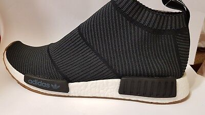 NEW IN BOX Adidas NMD CS1 PK City Sock Black UK 8 US 8.5 EU