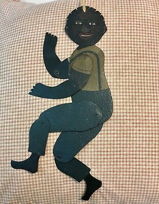 Older Shadowdancer Signed Young Angelica NY Tin African American Boy