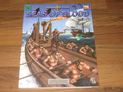 d20 Travellers Tales Seas of Blood Fantasy on the High Seas Mongoose MGP 3001 VG