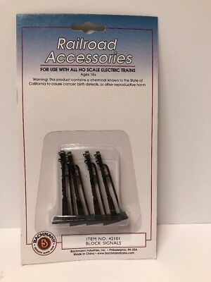 NEW Bachmann Block Signals HO Scale BAC42101
