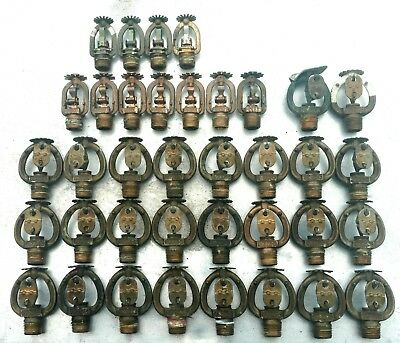LOT of 37 Vintage Vicking & Rasco Fire Sprinkler Heads