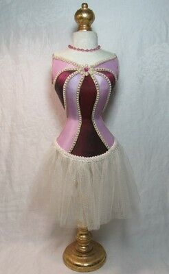 """Elegant Female Body Mannequin Stand Dress Form Display Jewelry Sewing 26"""" TALL!"""