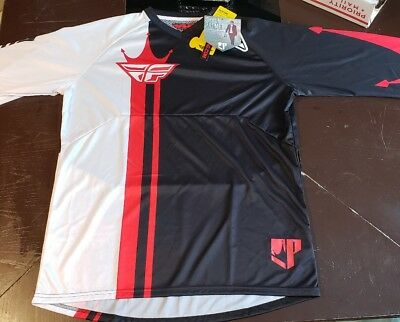 Fly Racing Ripa Convert Sp Jersey Black/red/white Large