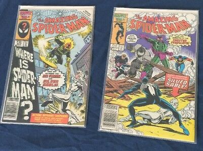 Amazing Spiderman 279-280 F/VF