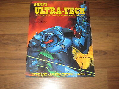 GURPS 3rd Edition Ultra-Tech Second Edition Sourcebook 1991 Steve Jackson Games