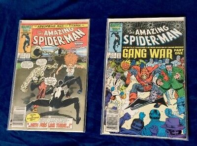 Amazing Spiderman 283-284 VF