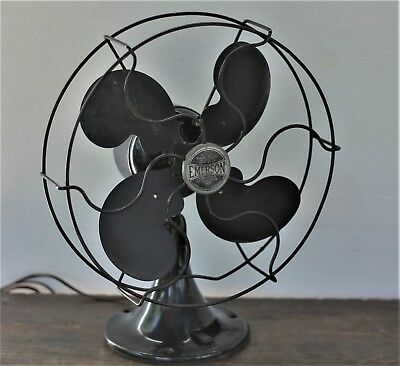 Antique Vintage  1930's  Emerson Osculating Fan  2250B
